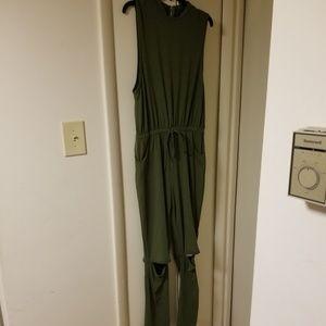 Women's Pant Romper - Size XL